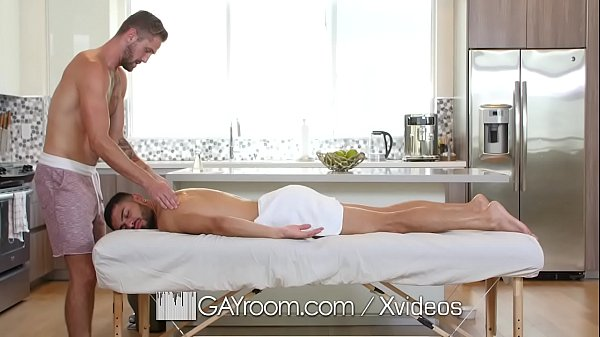 GayRoom Bearded bad boy gets tight ass invaded by cock